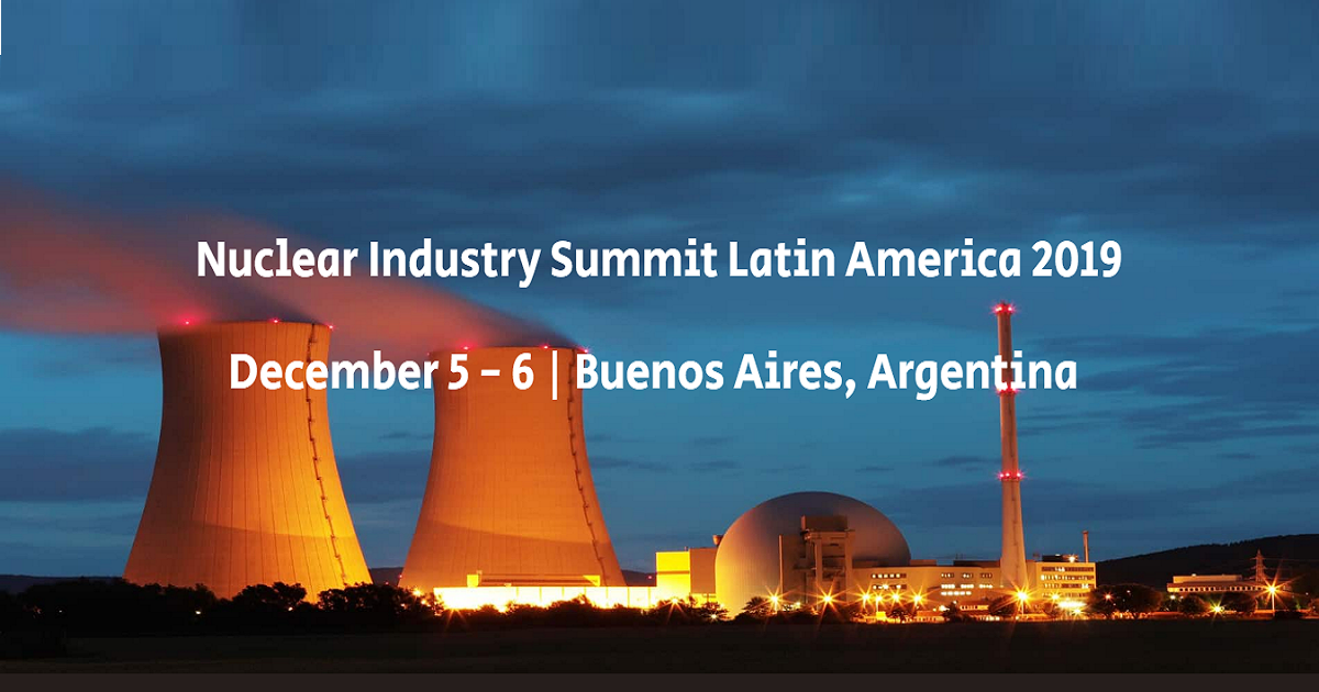 Nuclear Industry Summit Latin America 2019