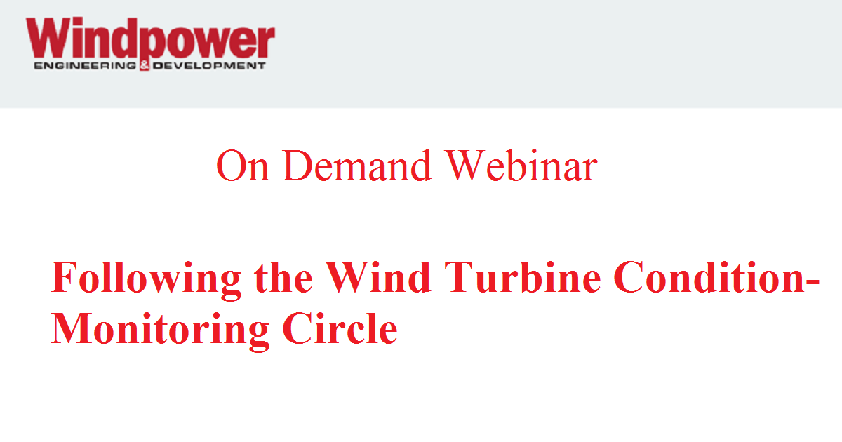 Following the Wind Turbine Condition-Monitoring Circle