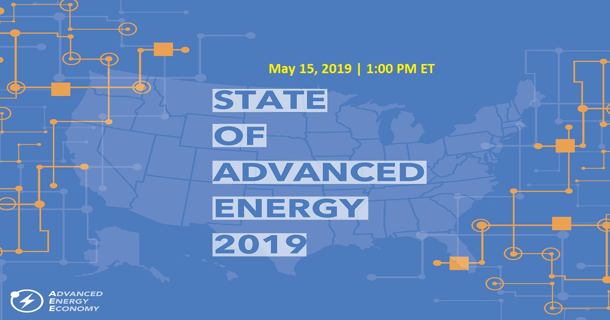 State of Advanced Energy 2019