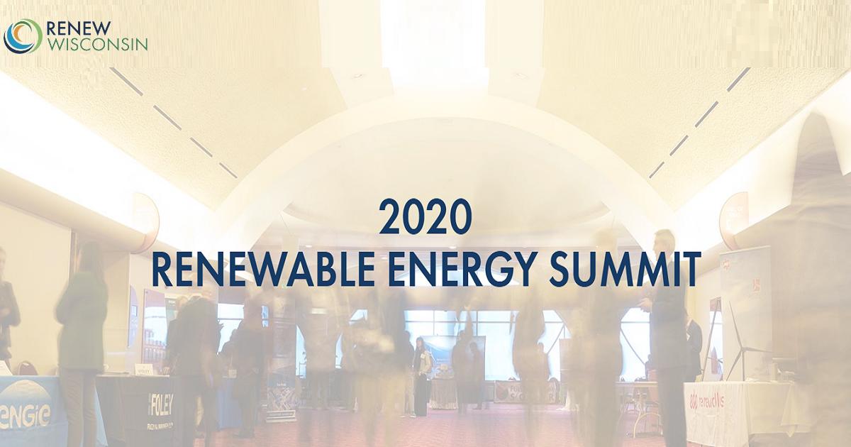 2020 RENEWABLE ENERGY SUMMIT