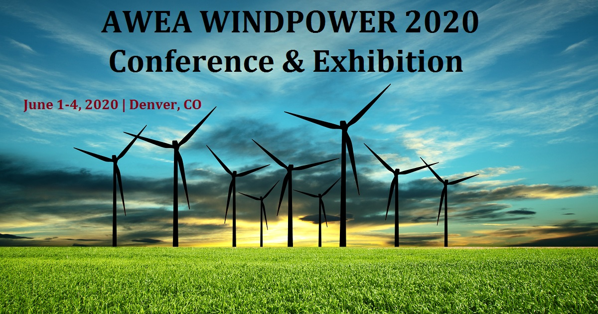 AWEA WINDPOWER 2020 Conference & Exhibition