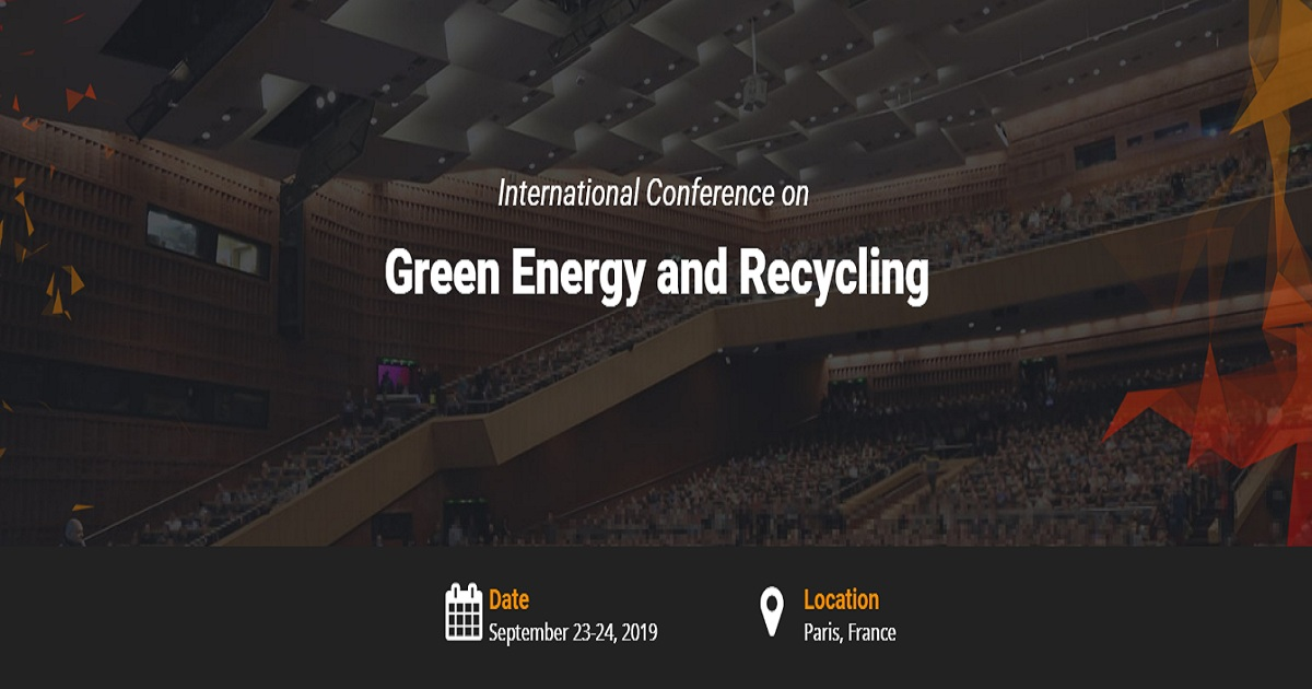 International Conference on Green Energy and Recycling