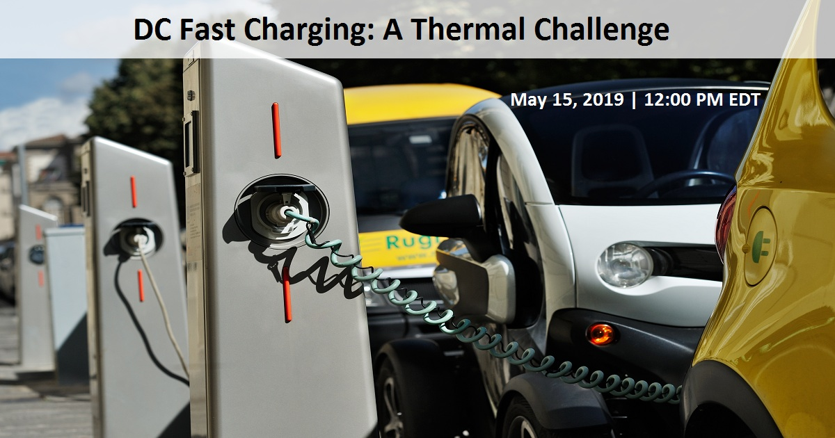 DC Fast Charging: A Thermal Challenge