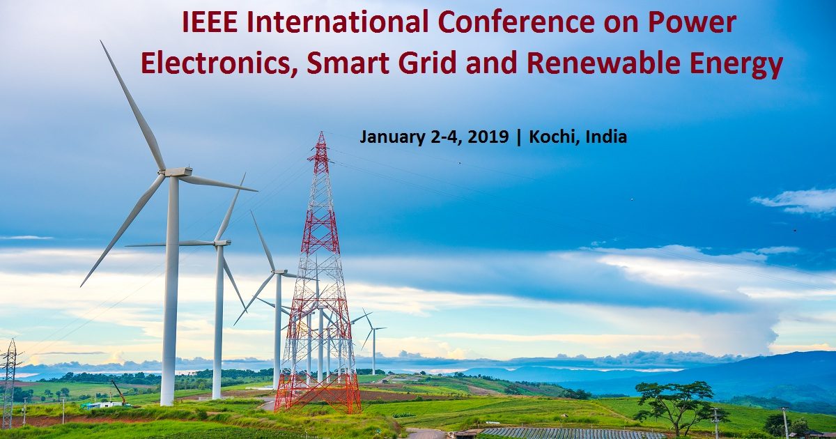 IEEE International Conference on Power Electronics, Smart Grid and Renewable Energy