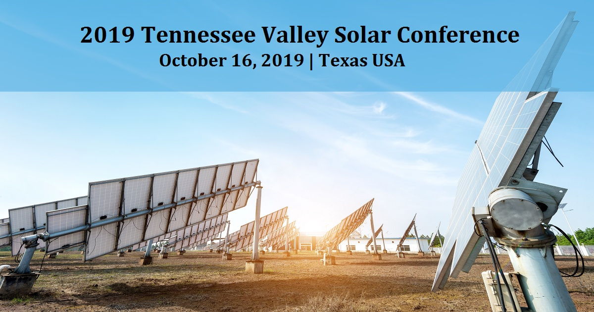2019 Tennessee Valley Solar Conference