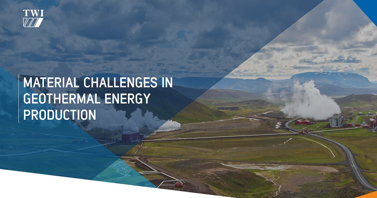 MATERIAL CHALLENGES IN GEOTHERMAL ENERGY PRODUCTION