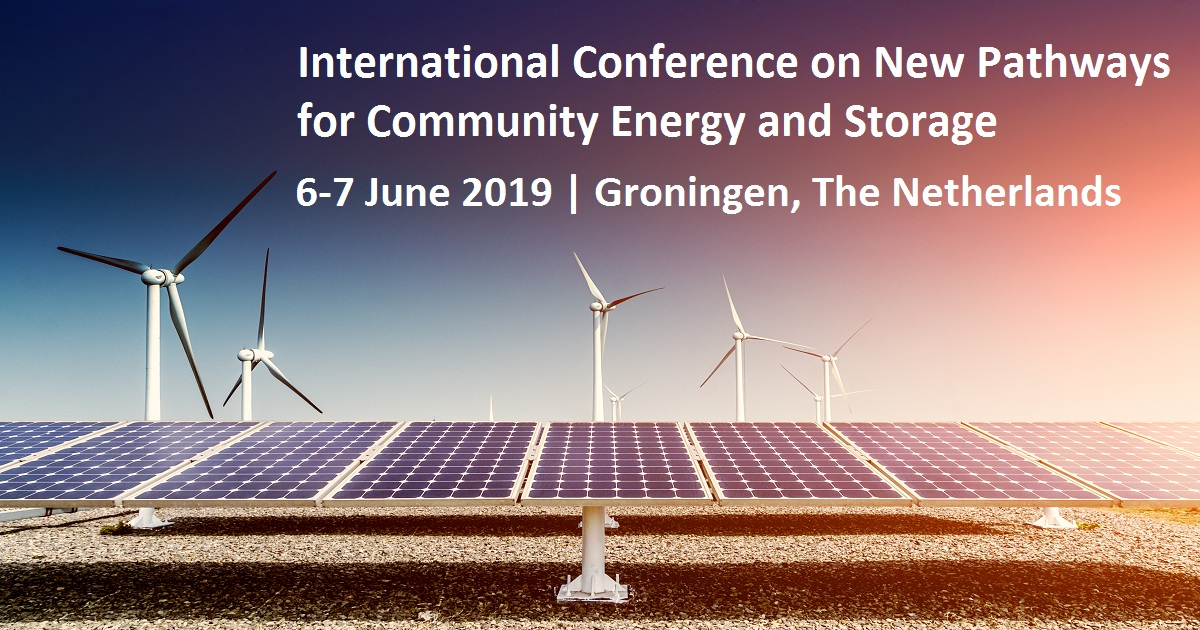 International Conference on New Pathways for Community Energy and Storage