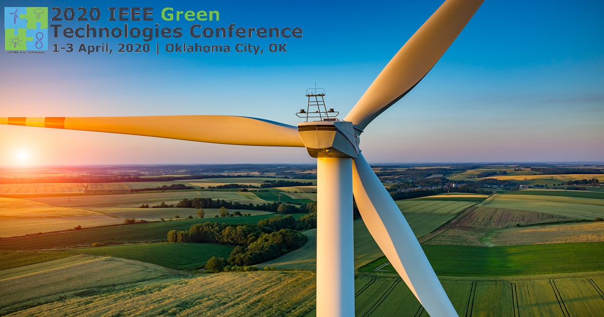 2020 IEEE Annual Green Technologies Conference