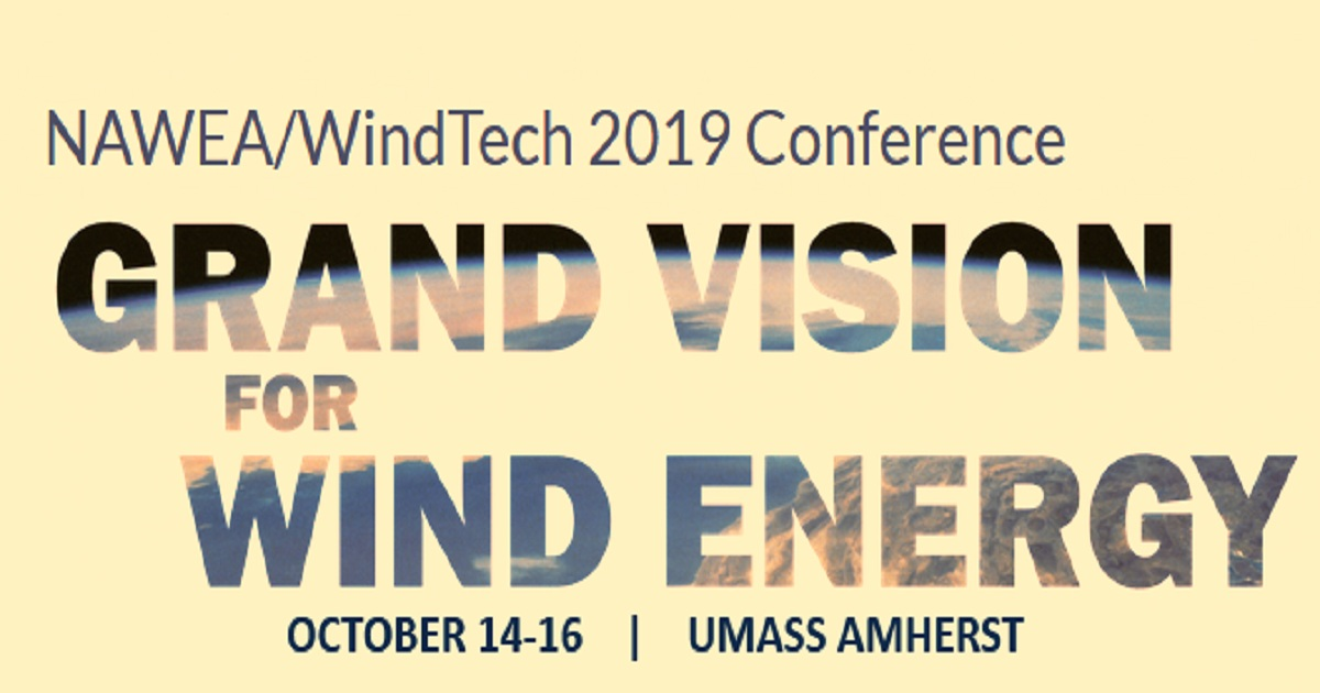 NAWEA/WindTech 2019 Conference