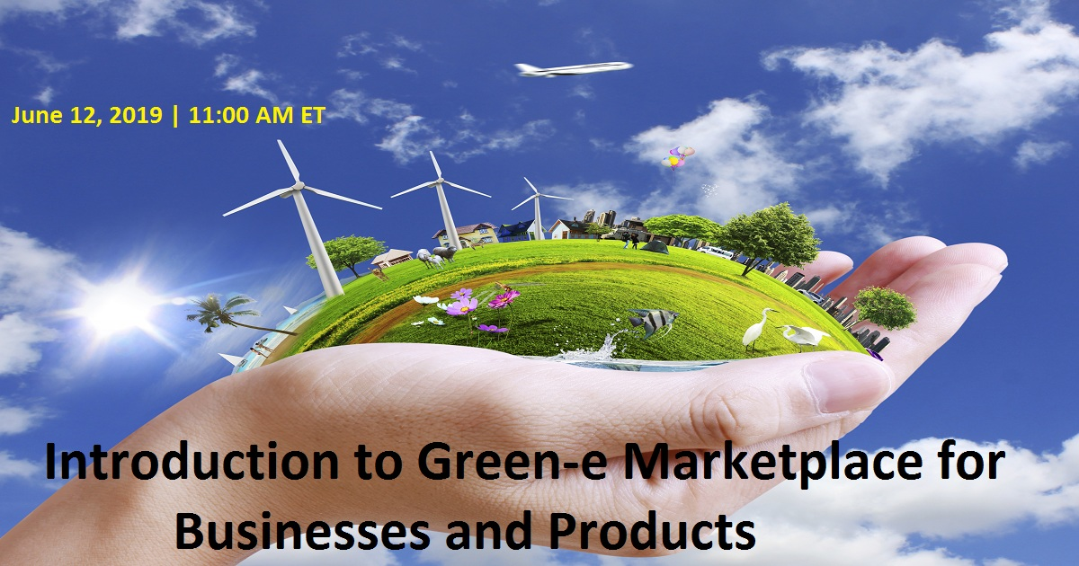 Introduction to Green-e Marketplace for Businesses and Products