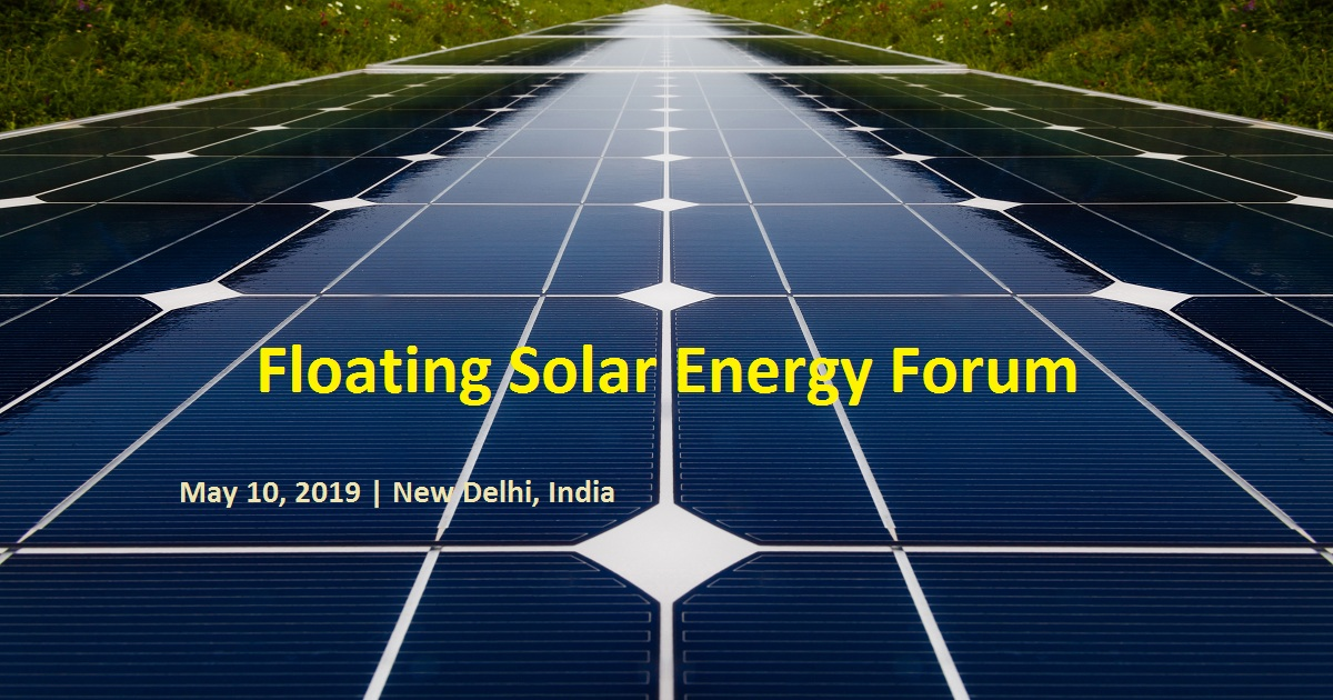 Floating Solar Energy Forum