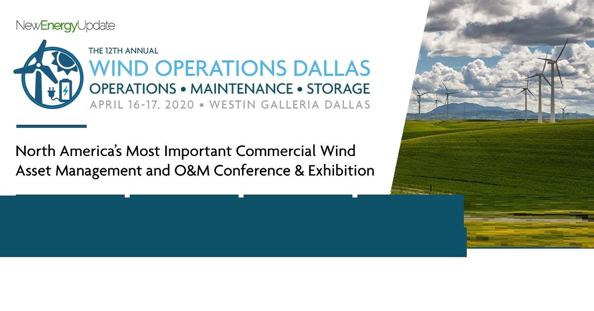 The 12th Annual Wind Operations Dallas 2020