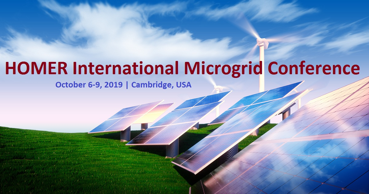 HOMER International Microgrid Conference