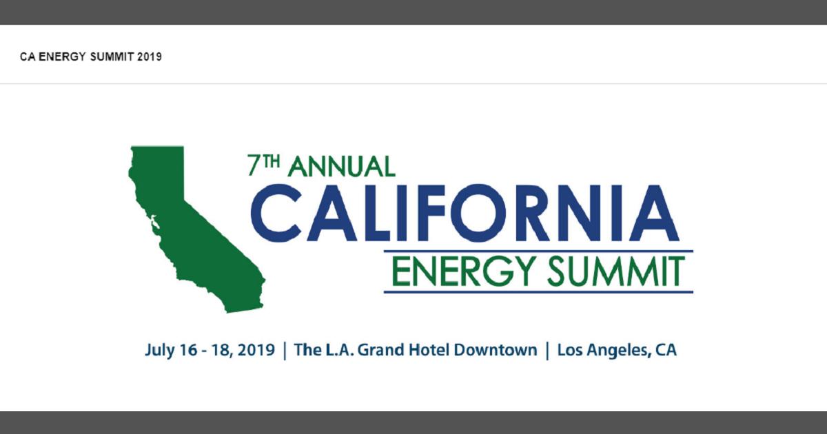 California Energy Summit
