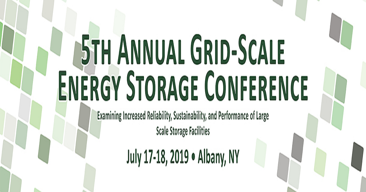 5th Annual Grid Scale Energy Storage Conference